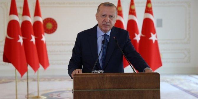 Cumhurbaşkanı Erdoğan'dan Güçlü ve büyük Türkiye vizyonu açıklaması