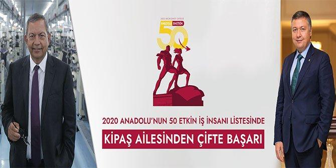 Kipaş Holding iki isimle listede yerini aldı