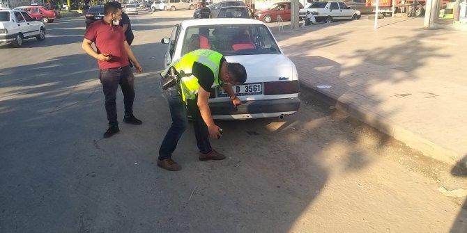 Kahramanmaraş'ta polis çevreyi rahatsız eden araçlara işlem yaptı