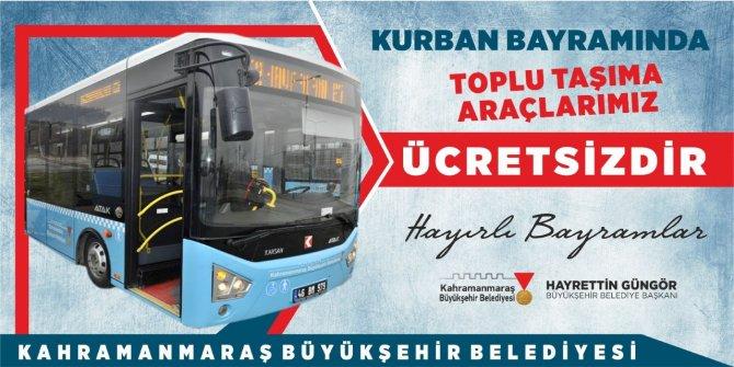 Kurban Bayramı Süresince Toplu Taşıma Ücretsiz
