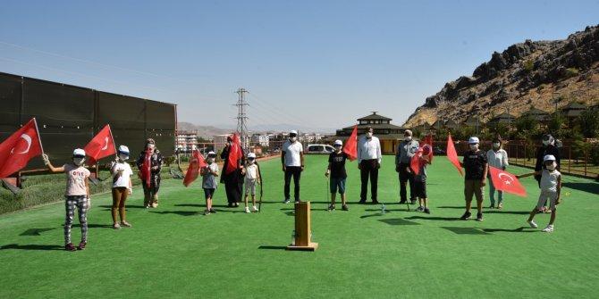 Türkoğlu Belediyesi bu bayramda şehit ve gazi çocuklarını unutmadı