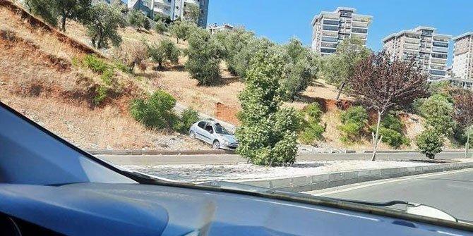 Kahramanmaraş'ta Feci Kaza: Otomobil Takla Attı