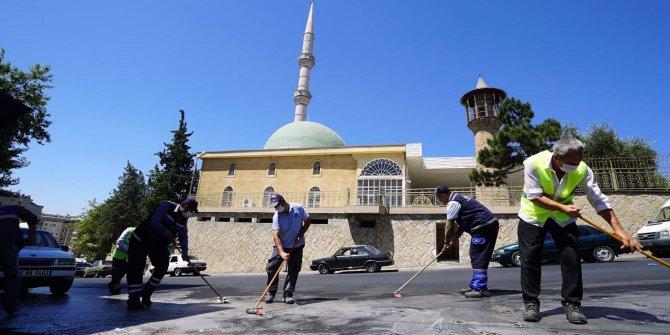 Büyükşehir Belediyesi'nden Kurban Bayramı temizliği