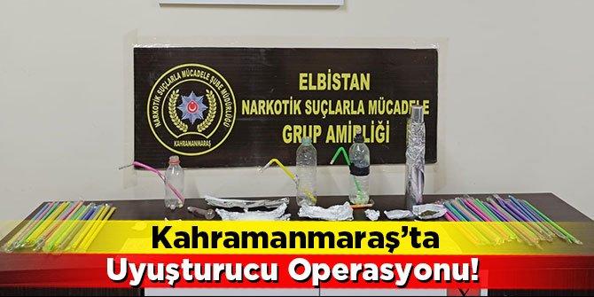 Kahramanmaraş'ta uyuşturucu operasyonu: 2 kişi tutuklandı