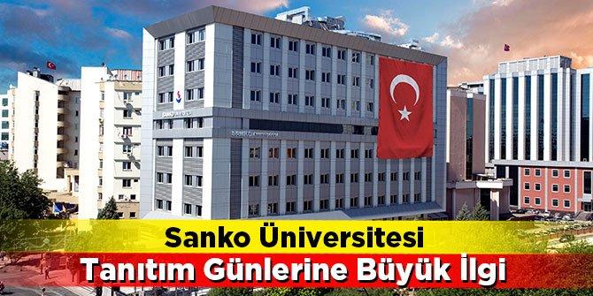Sanko Üniversitesi Tanıtım Günlerine Büyük İlgi