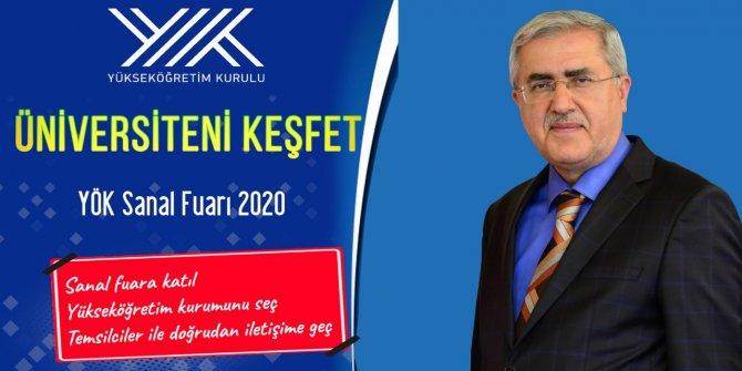 KSÜ, Üniversiteni Keşfet YÖK Sanal Fuarı 2020'de Stant Açtı
