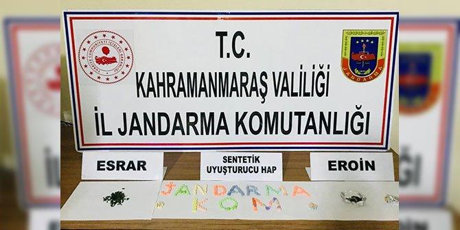 Kahramanmaraş'ta uyuşturucu operasyonu: 7 gözaltı