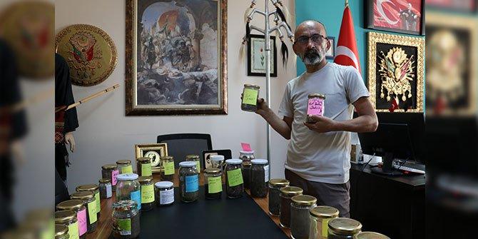 Türk Milletinin yaşadığı 37 ayrı bölgenin toprağının numuneleri var