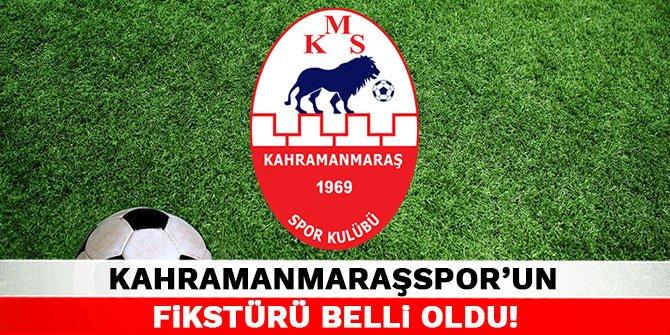 Kahramanmaraşspor'un fikstürü belli oldu!