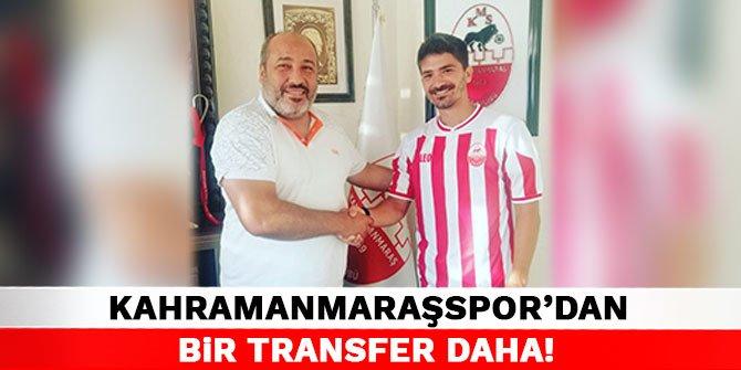 Kahramanmaraşspor'dan bir transfer daha!