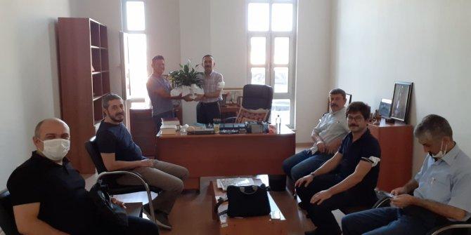 TYB Kahramanmaraş Şubesinden KSÜ Kütüphanesine Ziyaret
