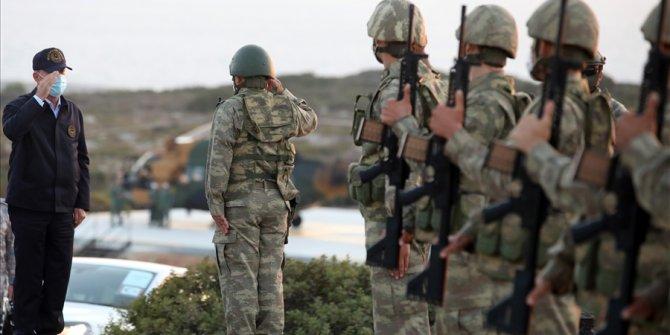 """Bakan Akar: """"Biz Kıbrıs'ı milli mesele kabul ediyoruz ve buradayız"""