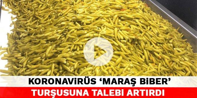 Koronavirüs 'Maraş Biber' turşusuna talebi artırdı