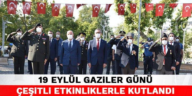 Kahramanmaraş'ta 19 Eylül Gaziler Günü çeşitli etkinliklerle kutlandı