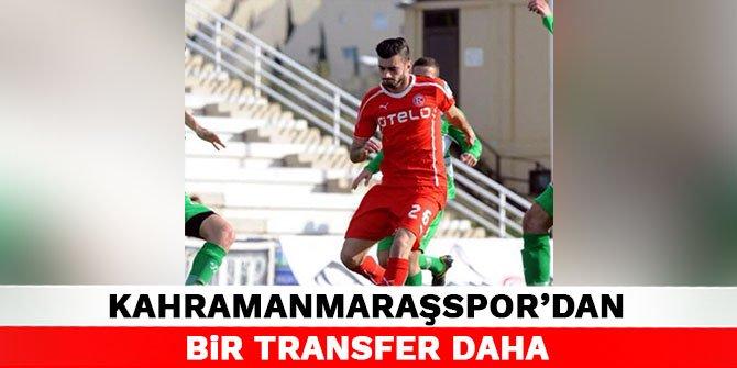 Kahramanmaraşspor'dan bir transfer daha