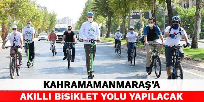 Kahramanmaraş'a Akıllı Bisiklet Yolu yapılacak