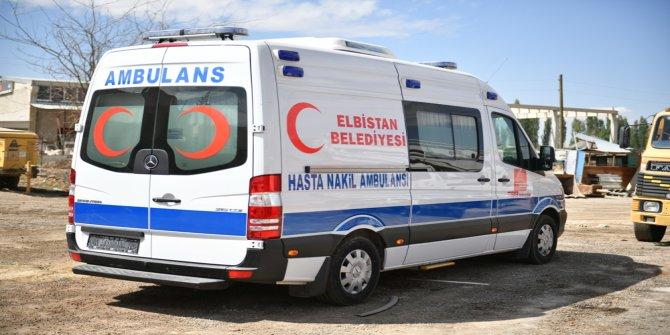 """Gürbüz, """"Tam donanımlı ambulansı sağlık bakanlığına tahsis ettik"""""""