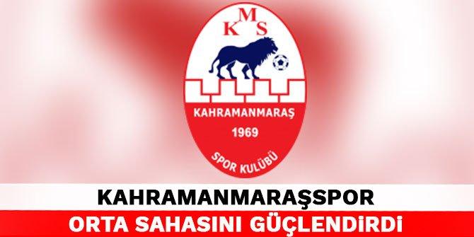 Kahramanmaraşspor orta sahasını güçlendirdi