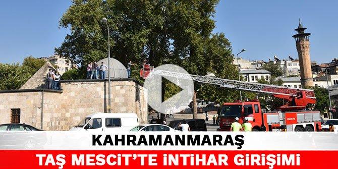 Kahramanmaraş Taş Mescit'te intihar girişimi