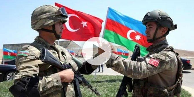 MSB'den Azerbaycan'la ilgili anlamlı paylaşım