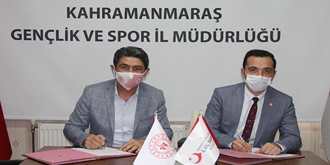Kahramanmaraş'ta imzalanan protokol ile sporun gücünden yararlanılacak