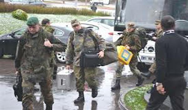 NATO HEYETİNİN İNCELEMELERİ SÜRÜYOR