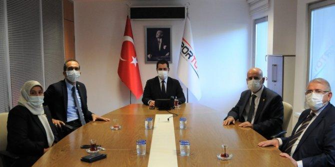 Kahramanmaraş'a yapılacak olan 6 halı sahanın protokolü imzalandı
