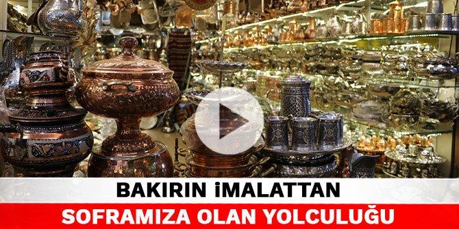 Türkiye'nin yüzde 70 bakır işçiliğini Kahramanmaraş karşılıyor