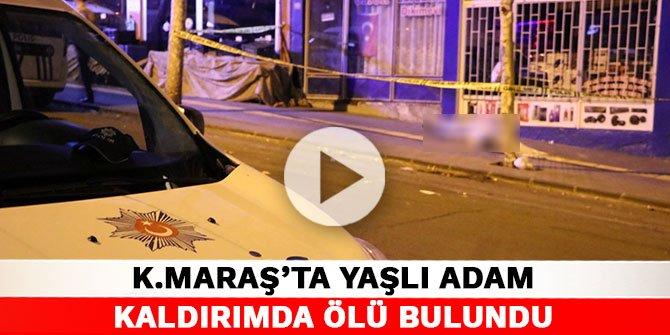 Kahramanmaraş'ta yaşlı adam kaldırımda ölü bulundu