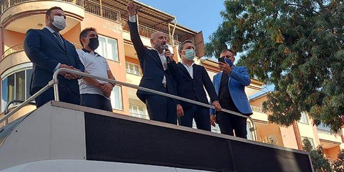 CHP'li Ali Öztunç Elbistan'da konuştu