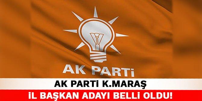 AK Parti Kahramanmaraş İl Başkan Adayı belli oldu!