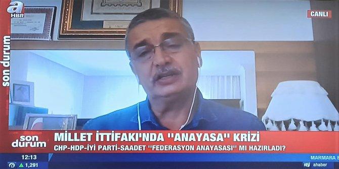 Güvenç: CHP, SP, İYİ Parti terör örgütünün uzantısı olan HDP'ye payandalık yapıyorlar
