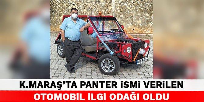 Kahramanmaraş'ta Panter ismi verilen otomobil ilgi odağı oldu