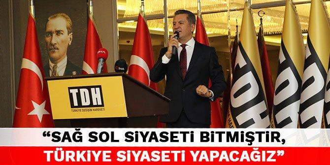 Sarıgül Anadolu'da: Sağ sol siyaseti bitmiştir, Türkiye siyaseti yapacağız