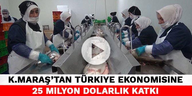 Denize kıyısı olmayan Kahramanmaraş'ta 55 ülkeye balık ihracatı