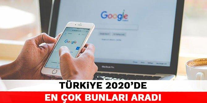 Türkiye 2020'de en çok bunları aradı