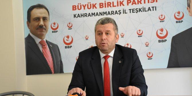 BBP Genel Başkan Yardımcısı Yardımcıoğlu: Kalbimiz Gaziantep için atıyor