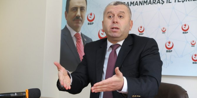 BBP'li Yardımcıoğlu: Siyasi partilere verilen destek esnafa verilsin