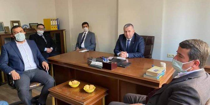 Başkan Okumuş'tan BBP Genel Başkan Yardımcısı Yardımcıoğlu'na ziyaret
