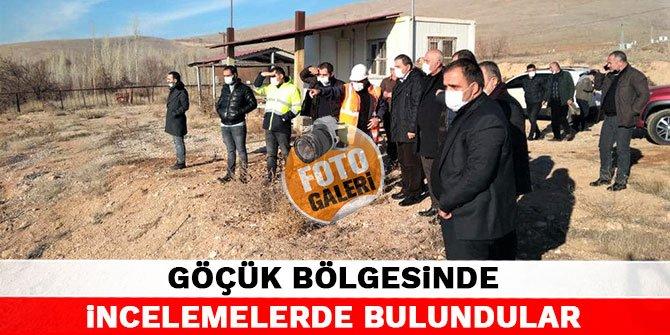 Kahramanmaraş'taki göçük bölgesinde incelemelerde bulundular