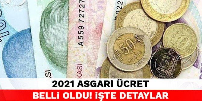 2021 asgari ücret belli oldu