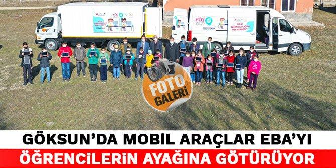 Kahramanmaraş'ta mobil araçlar Eba'yı öğrencilerin ayağına götürüyor