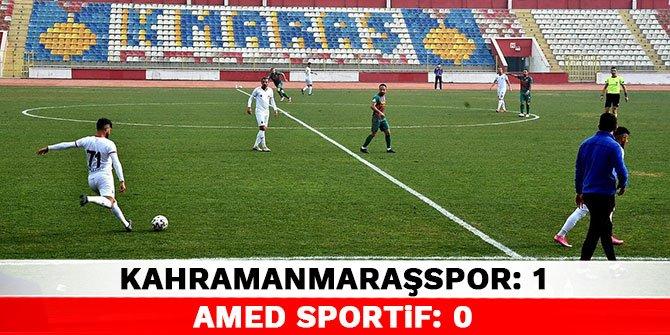 Kahramanmaraşspor 1-0 Amed Sportif