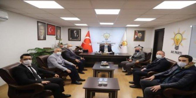 Ejder Akbaş'tan AK Parti teşkilatı ve TEİAŞ'a ziyaret