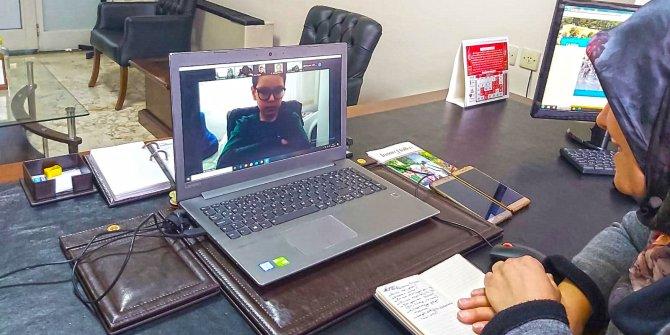 Kahramanmaraş'ta online okuma etkinlikleri başladı