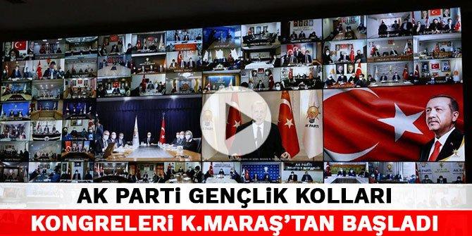 AK Parti Gençlik Kolları kongreleri Kahramanmaraş'tan başladı