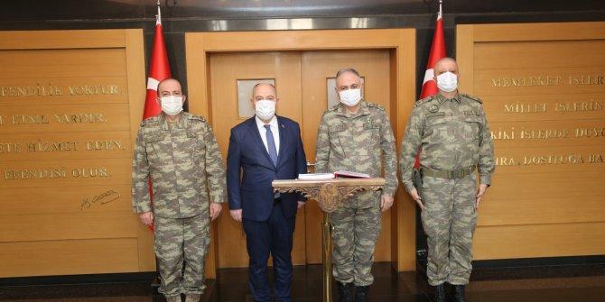 2. Ordu Komutanı Orgeneral Gürak Kahramanmaraş Valiliği'ni ziyaret etti