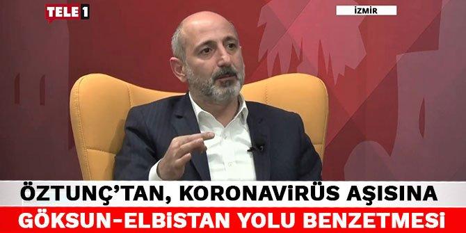 CHP'li Ali Öztunç'tan, koronavirüs aşısına Göksun-Elbistan yolu benzetmesi