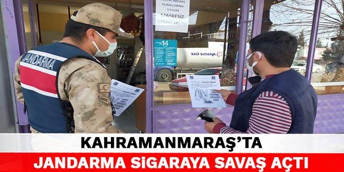 Kahramanmaraş'ta jandarma sigaraya savaş açtı