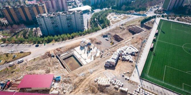Doğukent Yüzme Havuzu inşaatı hız kazandı